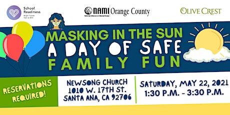 Masking in the Sun - A Day of Safe Family Fun tickets