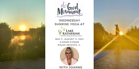 The Do Good Movement Wednesday Yoga Series at the Lake tickets