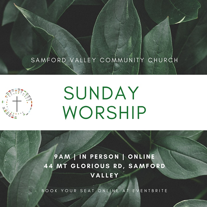 Sunday Service 23rd May 2021 - Samford Valley Community Church image
