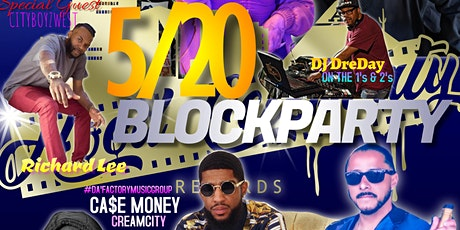 THE 520 BLOCK PARTY tickets
