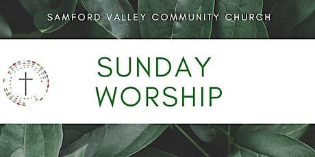 Sunday Service 30th May 2021 - Samford Valley Community Church tickets