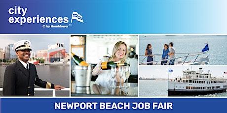 City Experiences Job Fair- Newport Beach tickets