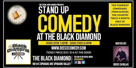 Live Comedy at The Black Diamond tickets