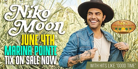 Niko Moon LIVE at KC's Marina Pointe! tickets