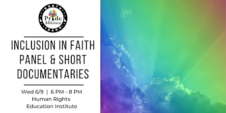 Inclusion in Faith Panel & Short Documentaries tickets