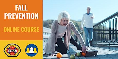 ONLINE Course: Fall Prevention - Los Gatos Monte Sereno - 2021 ingressos