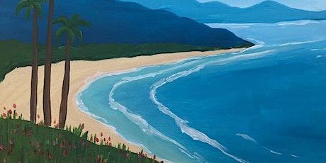 BEST Beach Paint and Sip Class Online tickets