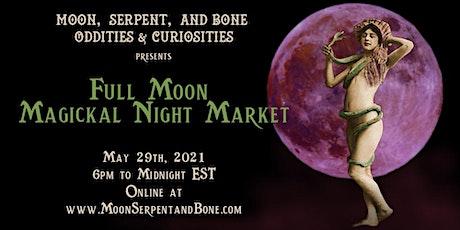Virtual Full Moon Magickal Market tickets