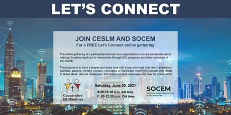 CESLM & SOCEM Free Let's Connect Online Gathering tickets