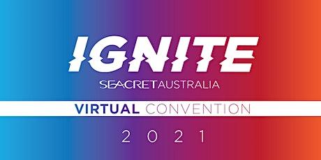 IGNITE Seacret Australia 2021 Virtual Annual Convention tickets