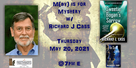 M(ay) is for Mystery w/ Richard Cass tickets