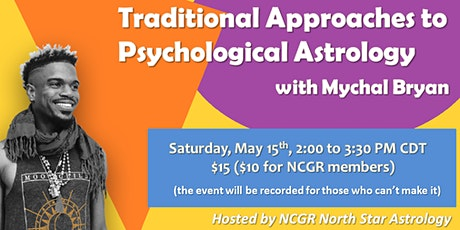 Traditional Approaches to Psychological Astrology tickets