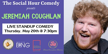 Comedy Night at The Ruby River Hotel with Jeremiah Coughlan tickets