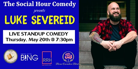 Comedy Night at The Ruby River Hotel with Luke Severeid tickets