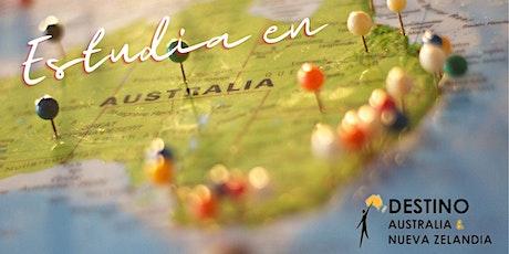 Sesión Educativa con Tres Universidades Australianas entradas