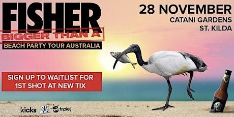 Fisher x1 ticket St Kilda tickets
