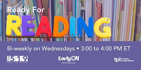 Ready for Reading with Toronto Public Library tickets