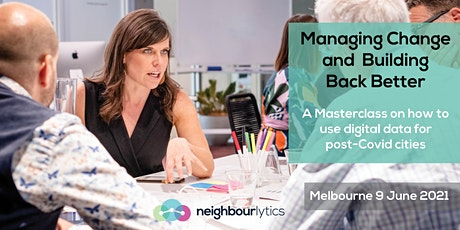 Managing Change and Building Back Better - Melbourne tickets