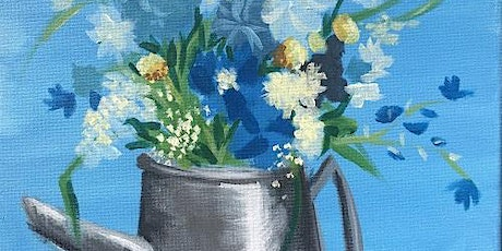 Beautiful Spring Flowers Paint and Sip  Event tickets