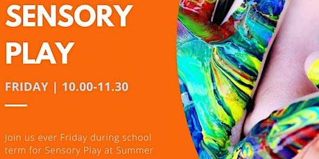 Sensory Play Friday - School Term tickets