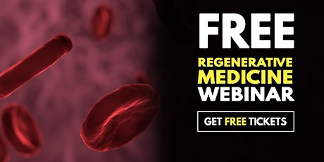 Free Webinar:Regenerative Medicine for Joint Pain Relief-Fayetteville, GA tickets