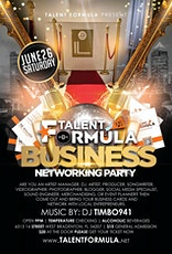 Talent Formula Entertainment Business Networking Party/ Album Release Party tickets