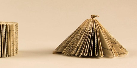 Get Crafty - Book Art and Sculpture - for Adults via Zoom tickets