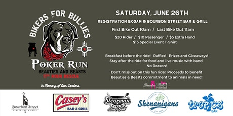 Beauties & Beasts Bikers for Bullies tickets