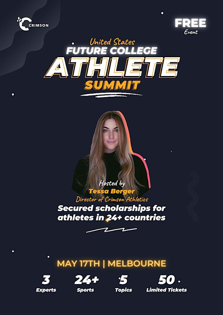 Future College Athlete Summit - Melbourne image