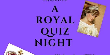 A Royal Quiz Night tickets