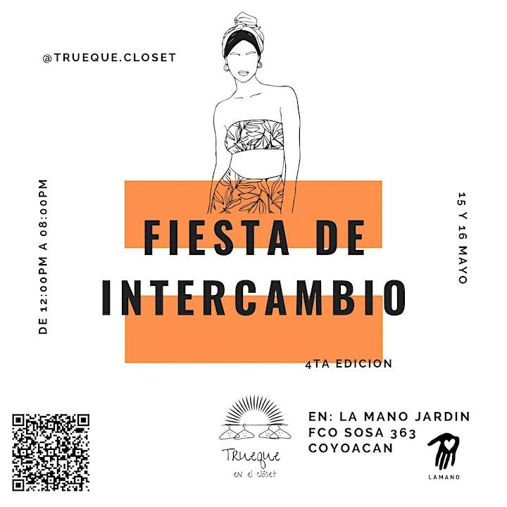Imagen de Fiesta de intercambio de prendas 4a. Ed._Trueque en el clóset