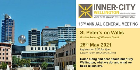 Inner City Wellington 13th Annual General Meeting tickets