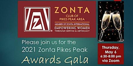 Zonta Pikes Peak Gala Awards Evening via Zoom tickets
