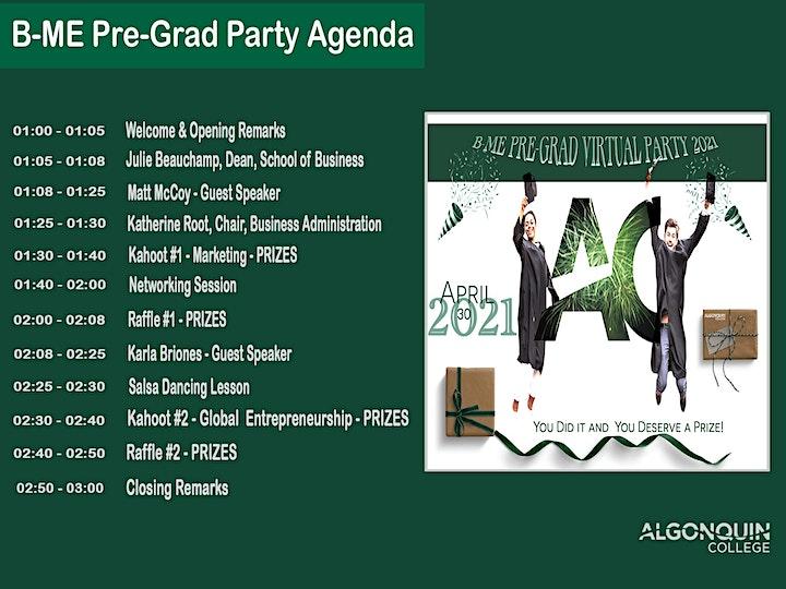 B-ME Pre Grad Virtual Party 2021 image