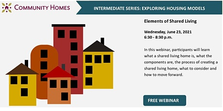 Elements of Shared Living 6/23/21 tickets