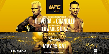 UFC  262 | @ The Greatest Bar tickets