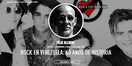 [Seminario] Pop-Rock en Venezuela: 60 Años de Historia boletos