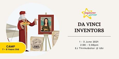 STEAM Holiday Camp: Da Vinci Inventors tickets