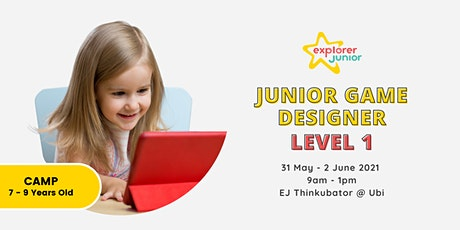 Jr. Game Designer Camp Lvl 1 tickets