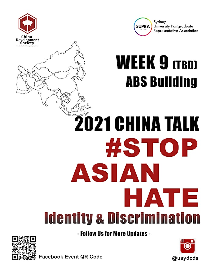 2021 China Talk: #Stop Asian Hate# Indentity & Discrimination image