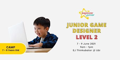 Jr. Game Designer Level 2 Holiday Camp tickets