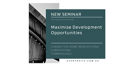 How to Maximise Development Opportunities tickets