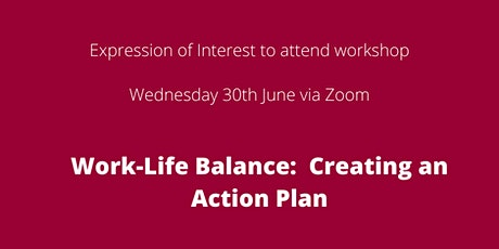 EOI to attend workshop:  Creating an action plan tickets