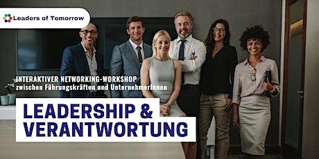 Leadership und Verantwortung - ein interaktiver Networking-Workshop Tickets