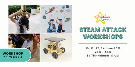 STEAM Attack Workshops tickets