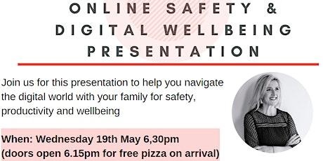 Online safety & Digital Wellbeing Presentation tickets