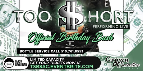 Too Short's Official Birthday Bash & Live Performa tickets