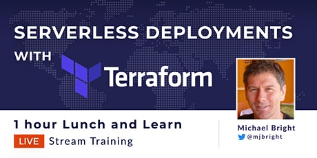 Serverless deployments with Terraform tickets