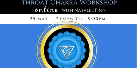 Throat Chakra Workshop tickets