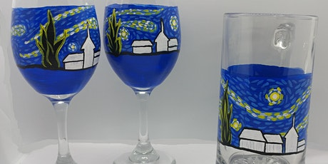 Wine Glasses/Beer Mugs Painting at Device Brewing with Creatively Carrie! tickets